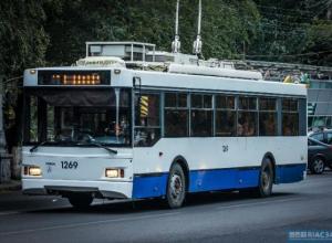 Из-за аварийной остановки «скоростного трамвая» мэрия Волгограда выводит на маршрут дополнительные троллейбусы