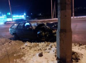 «Ауди» и «Фольксваген» столкнулись на перекрестке в Волгограде