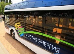 Электробус выйдет на дороги Волгограда в начале новой рабочей недели