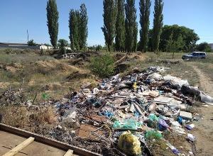 Три мусорных «айсберга» ликвидировали по решению суда под Волгоградом