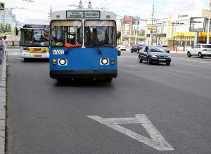 Новая выделенная полоса для маршруток и автобусов появится в Волгограде 30 октября