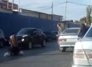В Волгограде авторегистратор снял наезд на ребенка