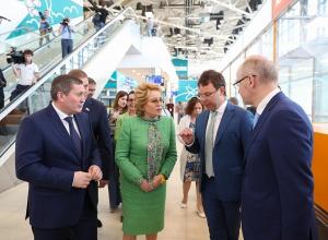 Спикер Совета Федерации Валентина Матвиенко раскритиковала власти Волгограда