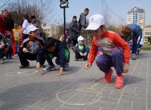 В Волгограде прошел флешмоб против смертельной игры «Беги или умри»