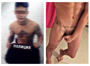 Уверенный в своей сексуальности «полицейский» шокировал волгоградцев пирсингом и обнаженкой