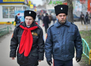 Казачьи патрули на улицах Волгограда обходятся бюджету в миллионы рублей