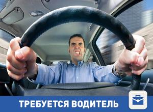 Требуется водитель в Волгограде