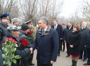 Вячеслав Володин прибыл в Волгоград