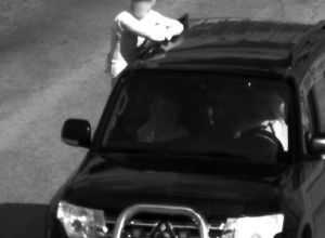 Штрафами за нарушение ПДД похвастался волгоградец на Mitsubishi Pajero с красивыми номерами
