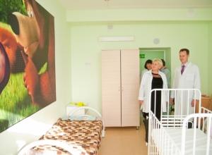 В больнице №7 Волгограда подходит к завершению трехлетний ремонт детского корпуса