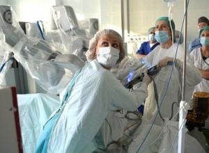 Роботизированным оборудованием оснащают больницы Волгоградской области