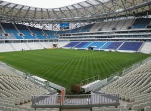 На стадионе «Волгоград Арена» начинается матч Нигерия – Исландия