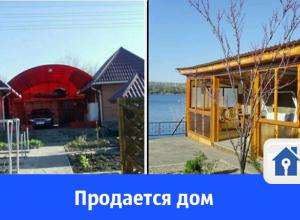 Продается шикарный дом на берегу Волго-Донского канала