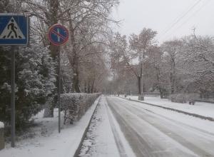 Нулевая температура не спасет выпавший в Волгограде снег