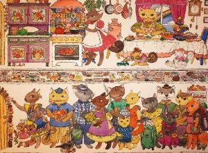 Две сорокалетние волгоградки  посвятили свою жизнь рисованию котиков