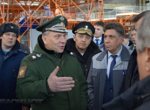 Замминистра обороны РФ посетит военно-промышленные предприятия Волгограда