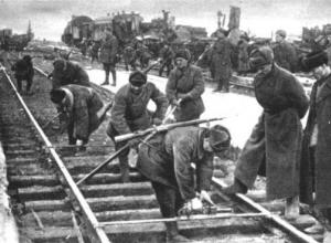 Календарь: 27 декабря 1941 года в Сталинграде поезда начали движение через Волгу