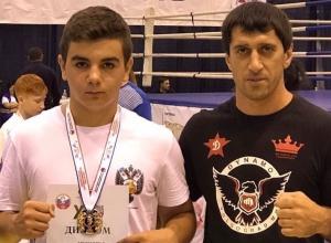 12-летний волгоградец стал первым в Анапе по рукопашному бою