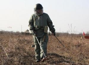 Под Волгоградом нашли 450 неразорвавшихся снарядов