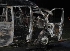 «Газель» самовоспламенилась в Волгоградской области
