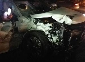 Страшная авария на западе Волгограда едва не унесла жизни людей