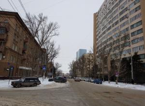 Улицу Советскую в Волгограде перекрыли на неопределенный срок