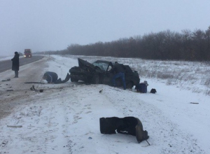 В ДТП с «ГАЗелью» и «десяткой» под Волгоградом пострадали пять человек