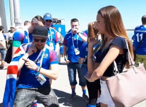 Исландцы свели волгоградку с ума русскими народными танцами