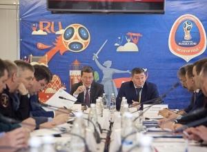Губернатор и замполпреда в ЮФО Владимир Гурба обсудили этапы подготовки Волгограда к ЧМ-2018