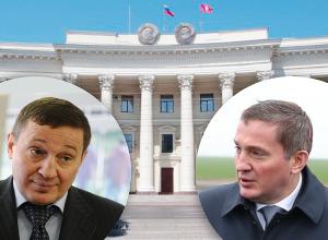 За время губернаторства Андрей Бочаров изменился в лице и в теле