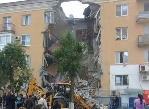Жилой дом взорвался в Советском районе Волгограда