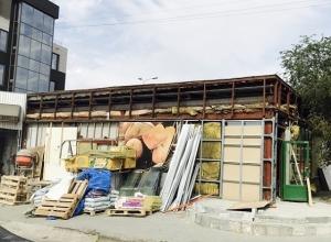 Магазин МАН сносят в центре Волгограда