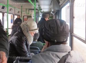 Волгоградка получила травмы в автобусе № 77 из-за экстренного торможения