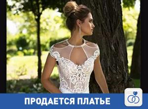 Продается элегантное свадебное платье из Испании