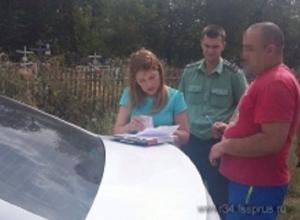 В Волгоградской области судебные приставы нашли должника на кладбище