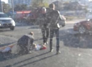 Девушку выбросило из окна машины во время ДТП, - волгоградцы