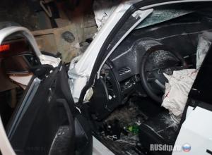 Двое человек погибли в сгоревшем Skoda в Камышине
