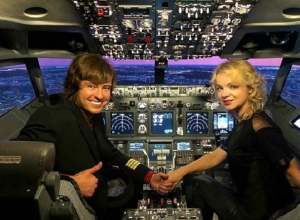 Прохор Шаляпин нарушил правила безопасности полета ради бывшей жены Джигарханяна