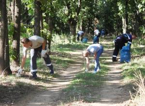 «ЕвроХим-ВолгаКалий» провел экологический субботник в Котельниково