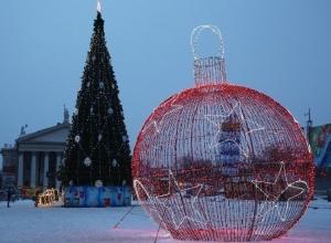 Центр Волгограда украсит новая новогодняя иллюминация, а старую передадут в районы