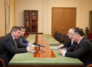 Губернатор пообещал ВГТЗ дальнейшее участие в оборонной программе