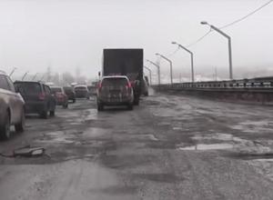 Президента РФ просят проконтролировать ремонт дорог в Волгограде