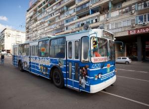 «Синий троллейбус» прокатит с ветерком болельщиков ЧМ-2018 по улочкам Волгограда