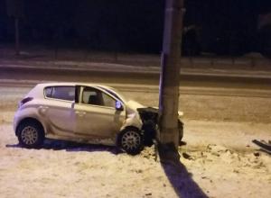 Пьяные девушки покатались на Hyundai по Волгограду: студентка в больнице