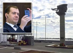 В Волгограде монтируют мобильный конференц-зал к приезду Дмитрия Медведева