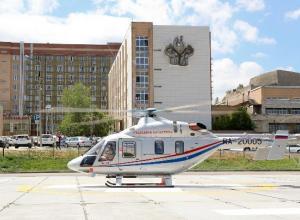 Единственный в Волгограде вертолет – «скорая помощь» чаще всего перевозит сердечников