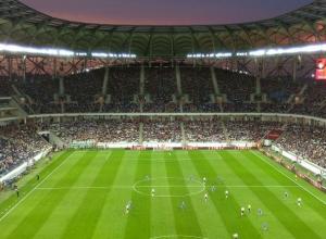 Стадион «Волгоград Арена» впервые загрузили по полной