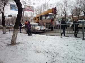 Центр Волгограда парализовали пятничные пробки