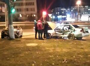 В Волгограде попали на видео последствия жуткой аварии с молодежью