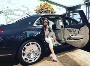 Волгоградка Ирина Дубцова подарила себе новенький Mercedes-Maybach